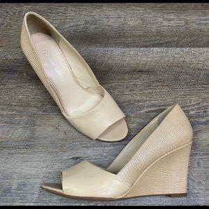 Franco Sarto wedge heels, size 8